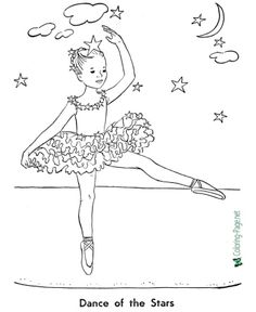 Free printable coloring pages, girls playing sports, girls at school, taking ballet and Scooby Doo Coloring Pages, Garden Coloring Pages, Free Coloring Sheets, Coloring Pages For Girls, Free Printable Coloring Pages, Coloring For Kids, Colouring, Little Girl Ballerina, Little Girl Dancing