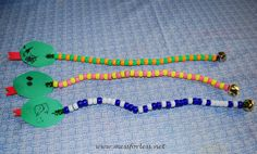 Mess For Less: Patterned Bead Snakes