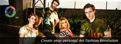 OArtTee - Wearable Art Fashion, created by Original Artists for people who Dare To Be Different