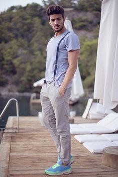 Cómo combinar unos tirantes en 2016 (70 formas)   Moda para Hombres