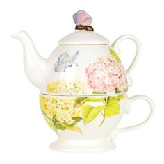Saucer combo is perfect for a steaming cup of afternoon tea its pink