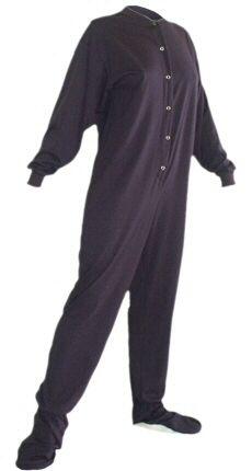 Big Feet Pajamas Adult Navy Blue Jersey Knit Footy  44 - SHOP http    2132f0f40