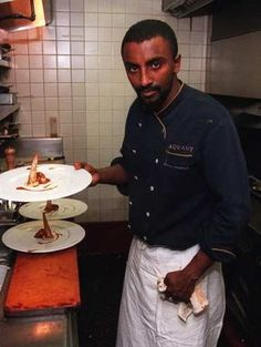 Marcus Samuelsson - interesting article on being black and a chef