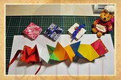 Handmade book / bookbinding - Accordion Mini Book