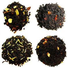 Flavored Black Sampler - A sample of some of the many flavored black blends! An array of flavors, color, and taste! Enjoy!