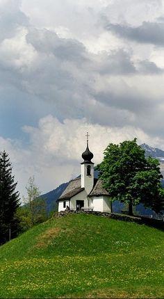 Maria Schnee Chapel in Gaschurn, Vorarlberg, Austria • photo: Budapestman on TrekEarth