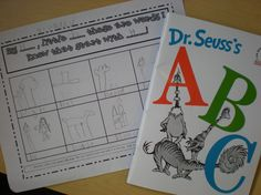 Activities to go with Dr. Seuss's ABCs.  Beginning consonant sounds and rhyming.