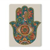 Found it at Wayfair - Hamsa Graphic Art on Canvas
