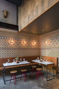 Blacksheep Restaurant Counter, Tapas Restaurant, Restaurant Concept, Restaurant Design, Marina Restaurant, Retail Facade, Concrete Wood, Wall Treatments, Commercial Design