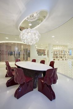 Hope at Alviero Martini's showroom in Milan. Project by Fabio Novembre