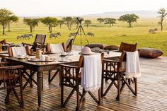 Les plus beaux lodges d'Afrique selon Conde Nast Traveler - Singita Grumeti Tanzanie