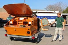 The stitch-and-glue teardrop caravan