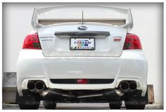 GReddy Subaru WRX Sedan 2011-ON Evo3 Exhaust