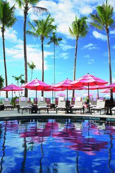 Hawaii - the Royal Hawaiian hotel in Waikiki