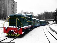 Train. Children's railway