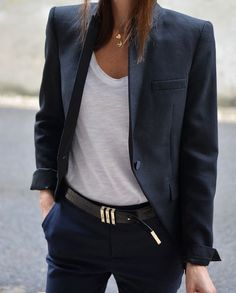 pt, Best Picture For tomboy fashion suits Tomboy Fashion, Blazer Fashion, Suit Fashion, Work Fashion, Fashion Looks, Fashion Outfits, Womens Fashion, Fashion 2018, Business Outfit