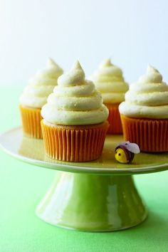 Lemon-Honey Cupcakes