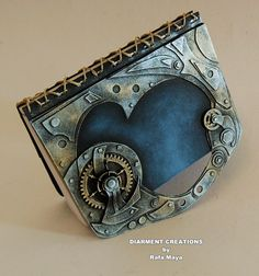 Amazing steampunk notebook.