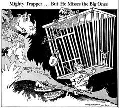 Mighty Trapper... but he misses the big ones