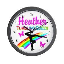 SUPER STAR GYMNAST Wall Clock http://www.cafepress.com/sportsstar/10114301  #Gymnastics #Gymnast #IloveGymnastics #Gymnastgifts #WomensGymnastics #Gymnastcalendar #PersonalizedGymnastics #Gymnastinspiration