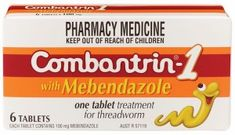 """Mebendazole (MBZ) is a commonly found, over-the-counter anti-parasite medication, used most often to rid the body of pinworms. """"Mebendazole, a well-known anti-helminthic drug in wide clinical use, has anti-cancer properties that have been elucidated in a broad range of pre-clinical studies across a number of different cancer types…"""