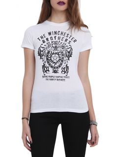 Supernatural Winchester Brothers Girls T-Shirt   Hot Topic