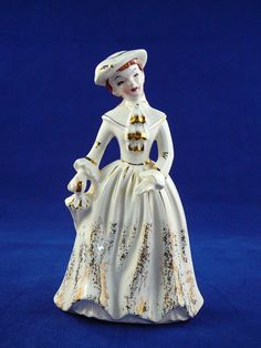 Vintage Napco Figurine  Miss Laureen  B2885 by JulianosCorner - SOLD