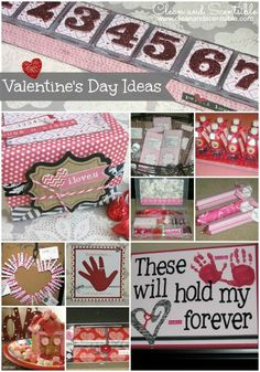 Awesome Valentine's Day ideas including crafts, party ideas, gifts, and cards.