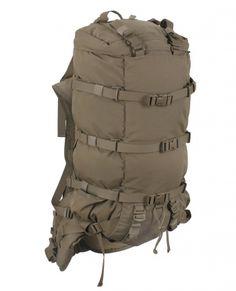 Hill People Gear Ute Backpack - - Inklusive Prairie Belt - Dual-7075 Serie Aluminium Stütze - Abnehmbare Rückenplatte - Großes Hauptfach - Stangen-Taschen - Reißverschlusstasche und PALS