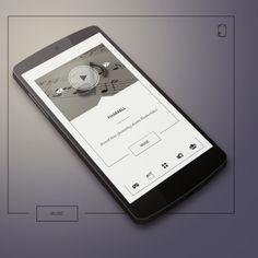 Elagant fremes Android Homescreen by peszek - MyColorscreen