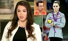 McKayla Maroney describes how Larry Nassar lay on her while naked | Daily Mail Online