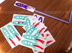 Cohetes de papel