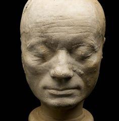 Phrenological head of Francis Gall, London, England, 1823