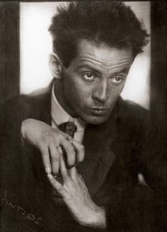 "Egon Schiele, 1914  Anton Josef Trcka. ""To restrict the artist is a crime. It is to murder germinating life."" (Schiele)"
