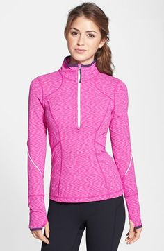 Free shipping and returns on Zella 'My Run Layer' Half Zip Top at Nordstrom.com. Early morning or just past dusk, you'll love this lightweight running layer with reflective trim that gets you seen. Its stand collar keeps out cold air and zips down to create at-will ventilation.