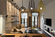 Contemporánea de 40 metros cuadrados 430 pies cuadrados Apartamento 15