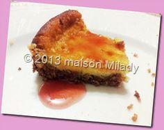 Maison Milady: Cheese cake meringata
