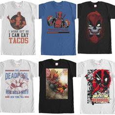 Deadpool cosplay. Dead pool Tees.  Tag a #deadpoolmovie fan.