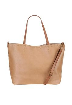 large tote with stud