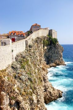 Old fortress wall in #Dubrovnik, #Croatia // #Travel