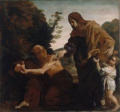 File:Giovanni Lanfranco (Italian - Elijah Receiving Bread from the Widow of Zarephath - Google Art Project.jpg