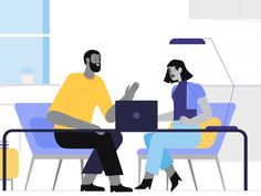 Motion design animation - Everything startups need to acquire customers through video Learn Flat Design Illustration, People Illustration, Character Illustration, Digital Illustration, Animation, Web Design, Design Logo, Design Graphique, Design Development