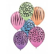 Have a wild party with these fantastic neon animal print latex party balloons! Jungle Party, Safari Party, Neon Purple, Neon Green, Animal Print Party, Latex Balloons, Biodegradable Products, Prints, Printmaking