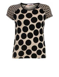 BASLER - Polka-dot T-shirt - navabi