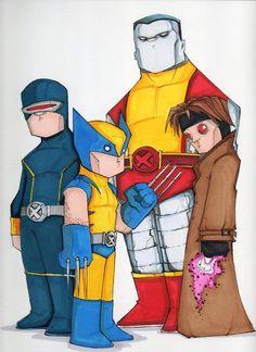 imagenes de super heroes en caricatura - Buscar con Google
