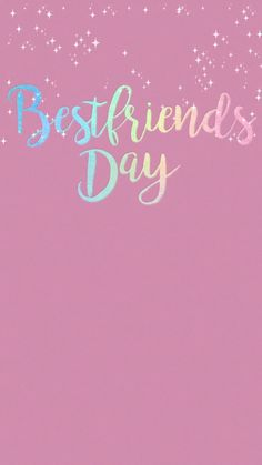 Celebrate your BFF! Best friends day is every day, right? Celebrate your BFF! Best friends day is every day, right?