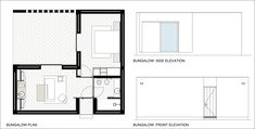 Image 19 of 19 from gallery of Ecork Hotel / José Carlos Cruz. Bungalow Plan