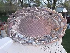 1993 Arthur Court Fish/Salmon/Trout Platter by Daysgonebytreasures