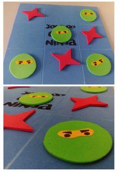 """Jogo do Galo """"Ninja"""": Prendinhas de oferta na Festa do meu filho."""