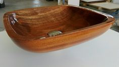 Here is our first prototipe of wooden washbasin customized - produced by bottegaita.net  Made in Italy